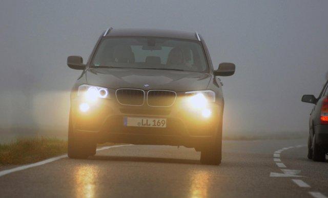 Кога да включваме светлините за мъгла?